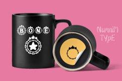 Bone Stars Halloween Monogram Display font / Procreate font Product Image 6