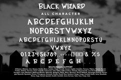 Black Wizard - Halloween Display Product Image 4