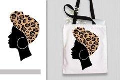 Afro Women SVG Black Woman Bundle SVG leopard Juneteenth SVG Product Image 2