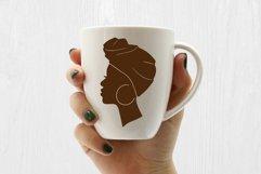 Afro Women SVG Black Woman Bundle SVG leopard Juneteenth SVG Product Image 3