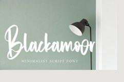 Blackamoor - Minimalist Script Font Product Image 1