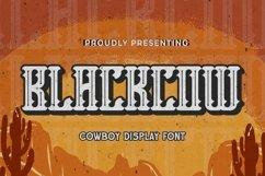 Web Font Blackcow - Blackletter Font Product Image 1