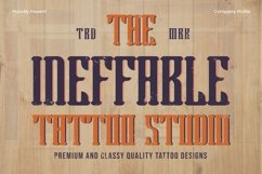 Web Font Blagters - Display Font Product Image 4
