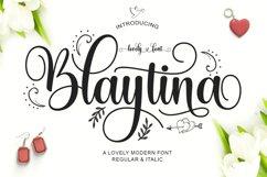 Blaytina Lovely Font Product Image 1