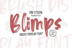 Blipms-Brush Font Product Image 1