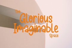 Blisstrapy Monoline Display Font Product Image 2