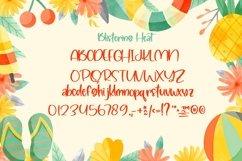 Web Font Blistering Heat - Summer Kids Font Product Image 5