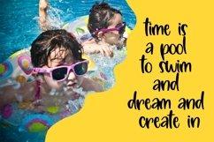 Web Font Blistering Heat - Summer Kids Font Product Image 6
