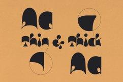 Nick Nock - Blob Display Font Product Image 2