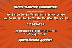 Blood Blaster a Bouncy Cartoon Font Product Image 5