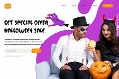 Web Font Bloody Castle - Halloween Display Font Product Image 3