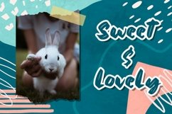 Web Font Bluebell - Cute Display Font Product Image 3