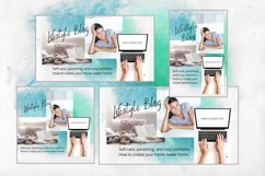 Animated Social Media Kit Canva Templates for Bloggers Product Image 2