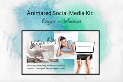 Animated Social Media Kit Canva Templates for Bloggers Product Image 1