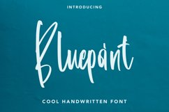 Bluepoint - Handwritten Font Product Image 1