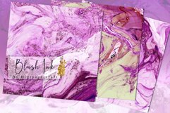 Blush Pink Digital Paper, Glam Alcohol Ink textures Product Image 3