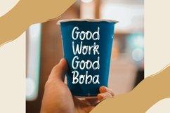 Web Font Bobacha - Fancy Hand Drawing Font Product Image 5