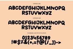 Web Font Bold Marker - a fun bold display font Product Image 4