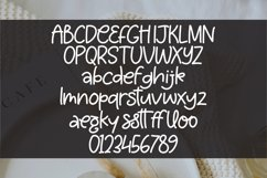 Bollauby - A handlettered Monoline Font Product Image 5