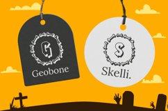 Bone Halloween Monogram Product Image 2