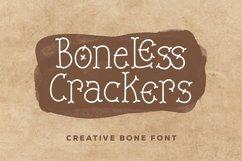 Web Font Boneless Crackers - Creative Bone Font Product Image 1