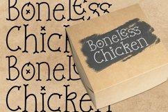 Web Font Boneless Crackers - Creative Bone Font Product Image 4