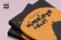 Nick Nock - Blob Display Font Product Image 3