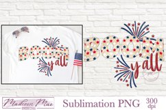 Fourth of July Sublimation - Boom Y'all Product Image 1
