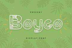Web Font Boyco Font Product Image 1