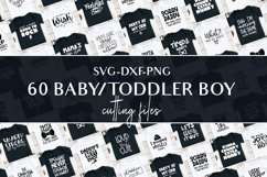 Svg bundle for baby boys and toddlers cutting files Product Image 1