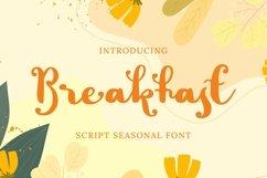 Web Font Breakfast Font Product Image 1