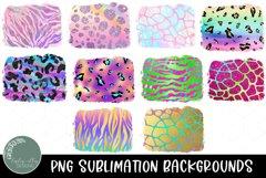 Neon and Pastel Animal Print Sublimation Background Bundle Product Image 2
