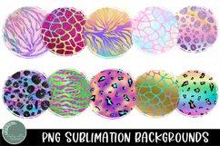 Neon and Pastel Animal Print Sublimation Background Bundle Product Image 3