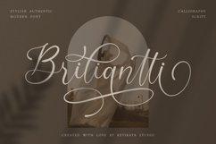 Briliantti beautiful Script Font Product Image 1