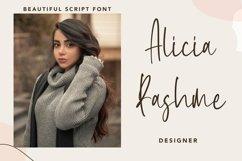 Web Font Brilliant - Beautiful Script Font Product Image 5