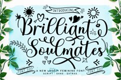 Romantic Collection Font Bundle Product Image 5