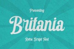 Web Font Britania Product Image 1