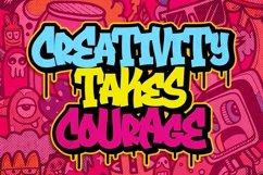 Brockers Urban Graffiti Art Font Product Image 2