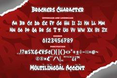 Brockers Urban Graffiti Art Font Product Image 6