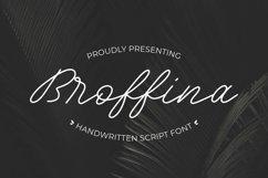 Web Font Broffina Product Image 1