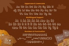 Web Font Brown Loly - Display Font Product Image 5