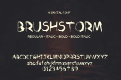 Brushstorm Font   Open Type & Woff Product Image 4