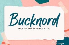 Bucknord - Marker Font Product Image 1