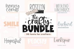 Crafty Font Bundle - 30 Handwritten Fonts for Crafters Product Image 1