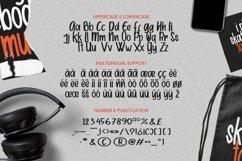 Web Font Budybems Font Product Image 4