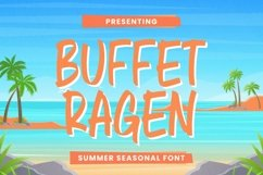 Web Font Buffet Ragen Font Product Image 1