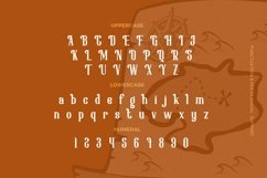 Web Font Bugady - Display Font Product Image 2