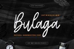 Bulaga - Handwritten Script Font Product Image 1