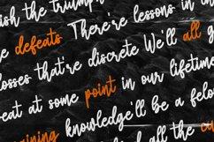 Bulaga - Handwritten Script Font Product Image 4