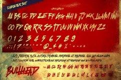 Bullhead - handwritten brush Product Image 3